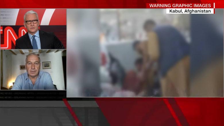 فيديو جديد يظهر آثارًا مروعة لهجومي محيط مطار كابول