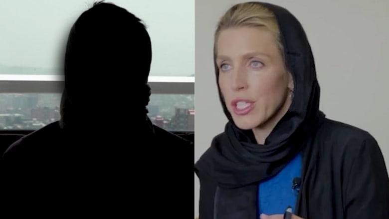 كلاريسا وارد مراسلة CNN في مقابلة مرعبة مع زعيم داعش خراسان في أفغانستان