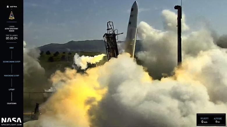 صاروخ ينطلق جانبيًا بدلاً من الانطلاق عاموديًا.. ما السبب؟