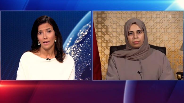 مساعدة وزير خارجية قطر لولوة الخاطر توضح لـCNN طبيعة الدور الذي تلعبه بلادها في أفغانستان