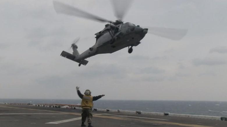 البحرية الأمريكية تعلن أسماء 5 جنود لقوا مصرعهم إثر حادث تحطم مروحية