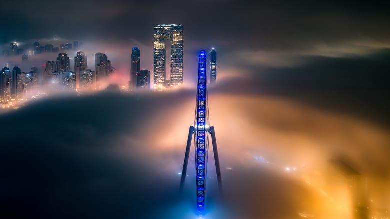عين دبي من تصوير عبدالله الجنيبي
