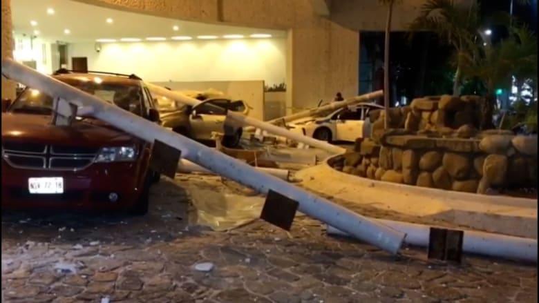 مراسل CNN يصف اللحظات الذي ضرب فيها زلزال بقوة 7 درجات المكسيك