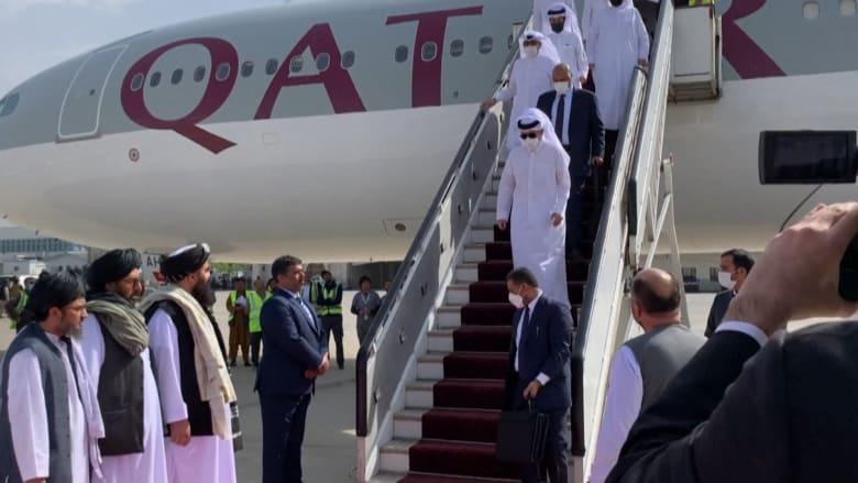 وزير خارجية قطر يلتقي الملا أخوند في أفغانستان