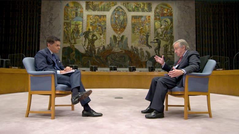 الأمين العام للأمم المتحدة لـCNN: بعض الحكومات استخدمت الوباء كذريعة للسيطرة على بلدانها