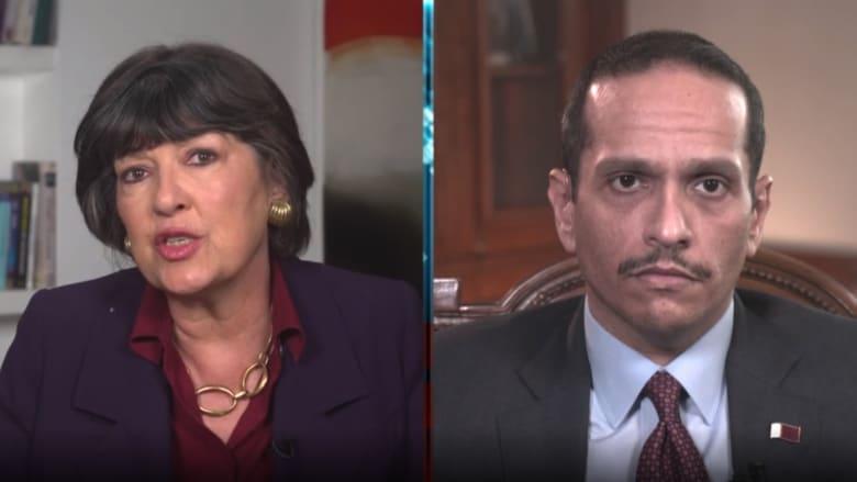 مذيعة CNN لوزير خارجية قطر: هل تهتمون بحقوق المرأة لتضغطوا على طالبان؟.. هكذا رد