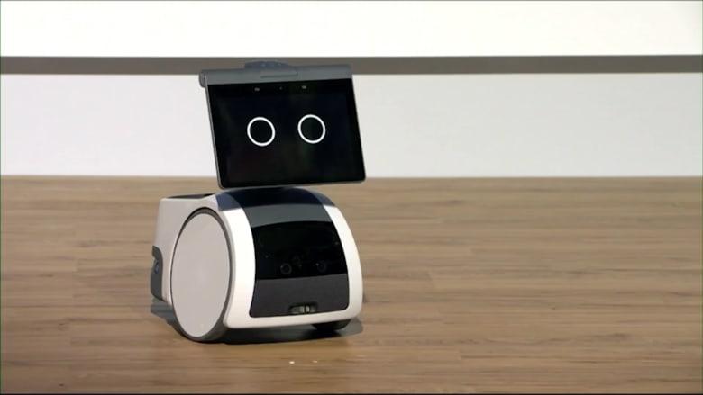 أمازون تقوم ببناء روبوت لمنزلك.. يمكنه حتى محاكاة القرع على الطبل