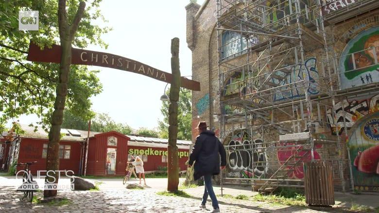بعد الاستيلاء على قاعدة عسكرية سابقة.. مجتمع متمرد حر يُولد وسط مدينة كوبنهاغن الدنماركية