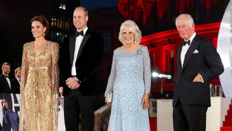 حضور ملكي بريطاني في العرض الأول لأحدث أفلام جيمس بوند في لندن