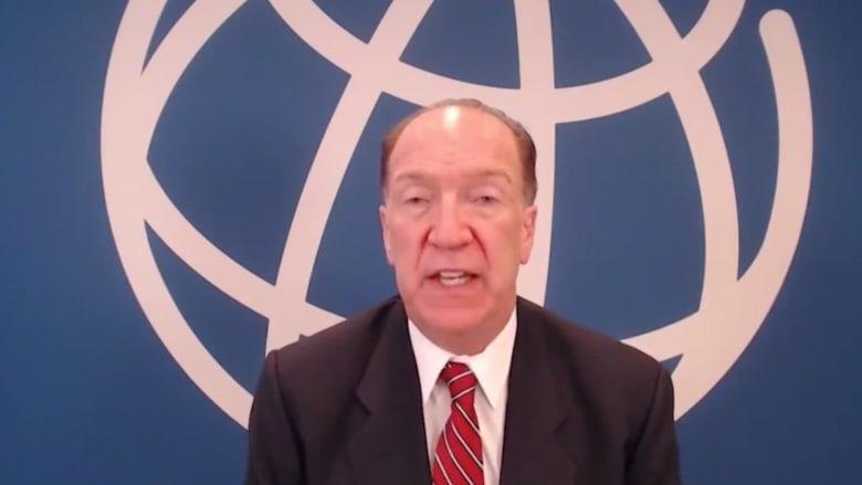 في حوار مع CNN.. رئيس البنك الدولي يقر بـ