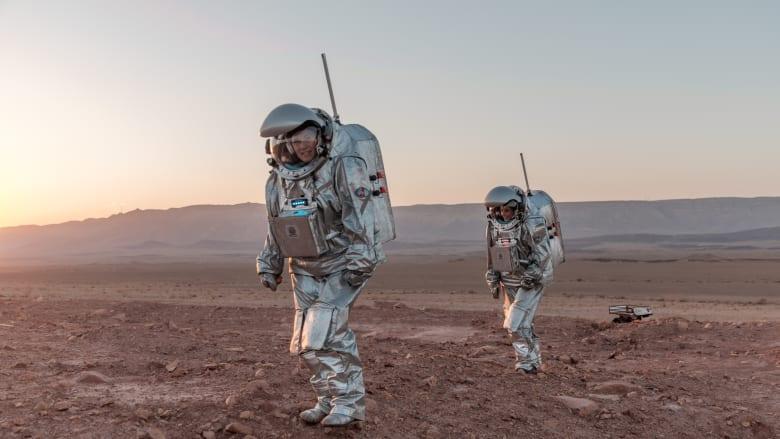 شاهد أين يقوم رواد الفضاء على الأرض بمحاكاة رحلة استكشافية إلى المريخ