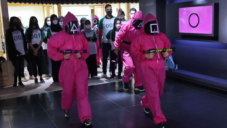 """إقامة تحديات """"Squid Game"""" في أبوظبي.. بدون عقوبات مميتة"""