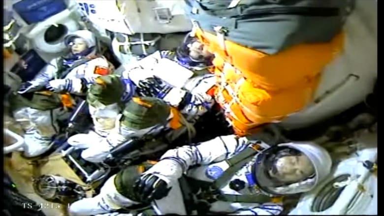 لحظة إطلاق الصين طاقمها لبناء محطة الفضاء الخاصة بها