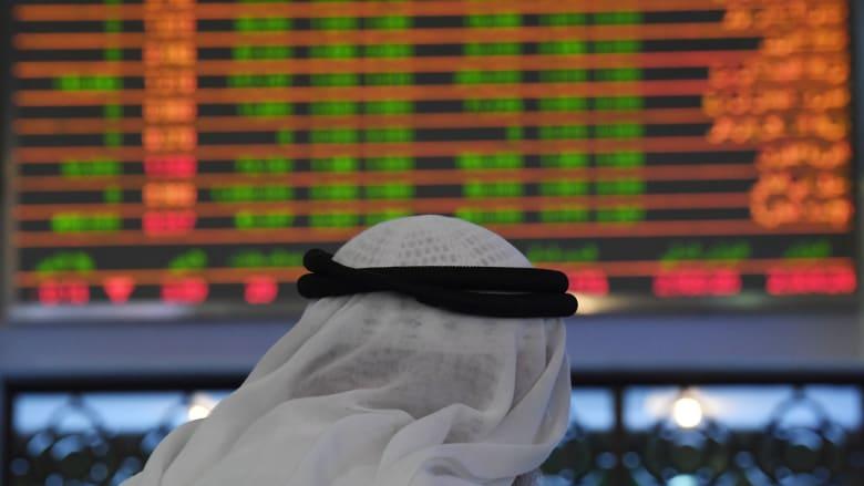 صورة أرشيفية لسوق دبي المالي