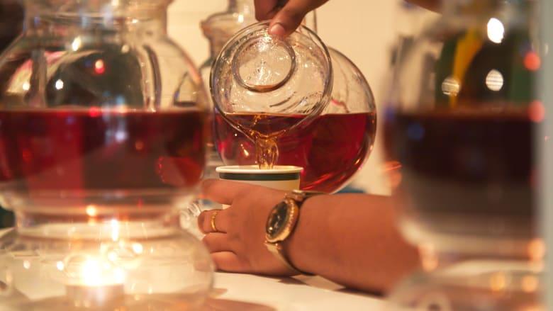 في ركن الشاي هذا بإكسبو.. اكتشف أسرار الشاي السيلاني ذات الشهرة العالمية
