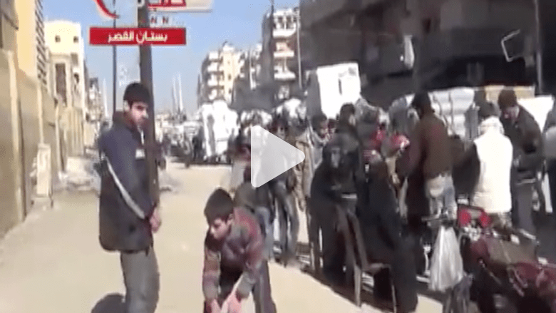 نزوح جماعي لسكان حلب تحت وطأة البراميل المتفجرة