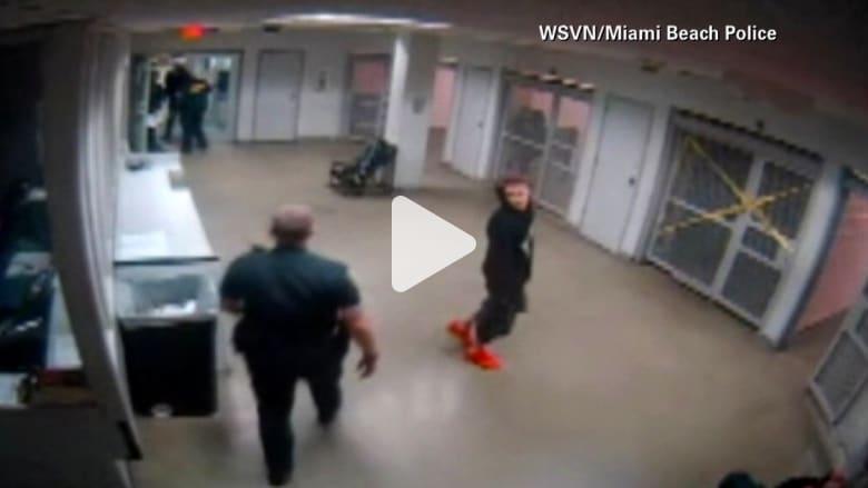 شاهد جستن بيبر في سجن ميامي