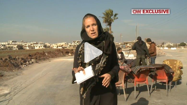 حصري بالفيديو.. CNN  تقتفي أثر داعش