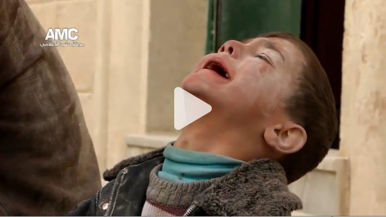 البراميل المتفجرة.. كابوس يلاحق أطفال سوريا