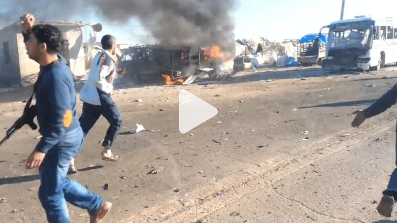 سوريا.. انفجار سيارة مفخخة قرب معبر باب السلام الحدودي