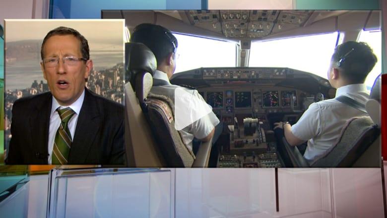 مراسل CNN مع مساعد الطيار بالرحلة الماليزية المفقودة.. قبل أسابيع