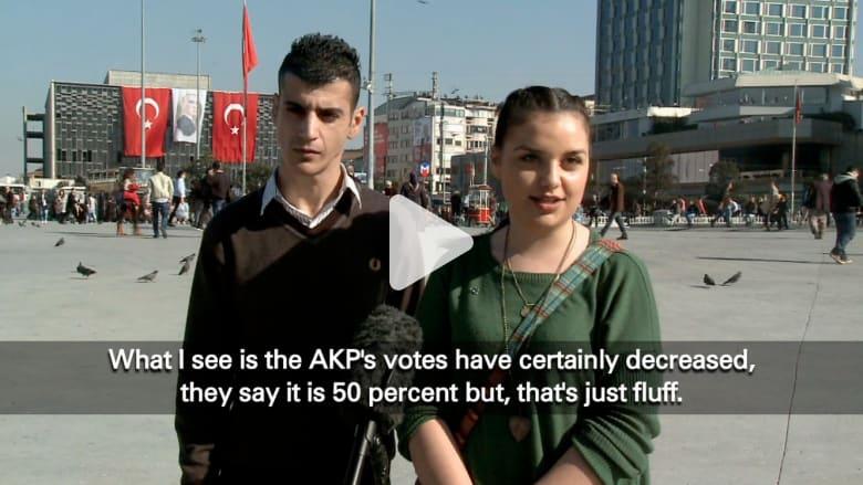 آراء المواطنين الأتراك حول الانتخابات المحلية