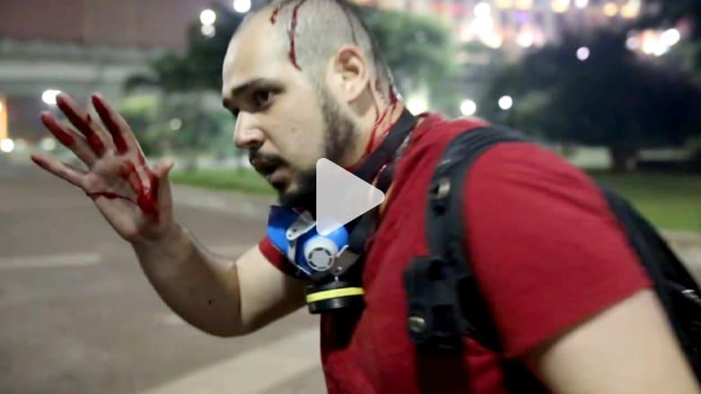 حصري.. عندما يتحول الاحتجاج على مونديال البرازيل إلى عنف