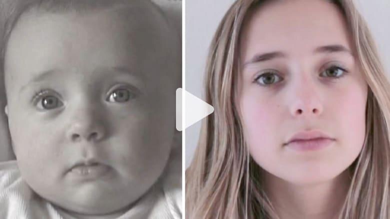 بالفيديو.. من رضيعة إلى 14 سنة في دقائق