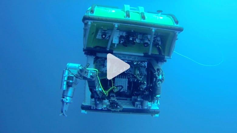 CNN تجرب مركبة  يمكنها انتشال الطائرة الماليزية من عمق المحيط