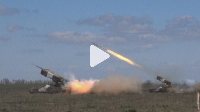 مناورات روسية على الحدود مع شرق أوكرانيا
