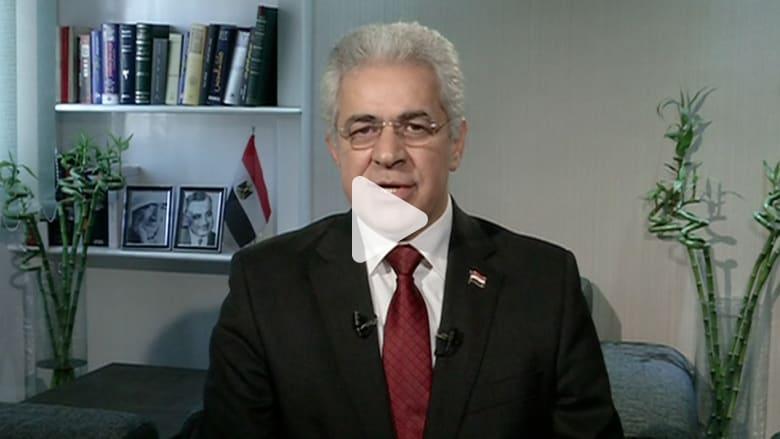 صباحي لـCNN: سأنجز المهمة المستحيلة وسأفرج عن الأبرياء بحال فوزي بالرئاسة