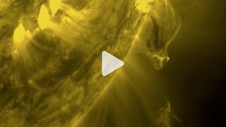ناسا تبث صور فيديو عالية الوضوح لانفجار شمسي