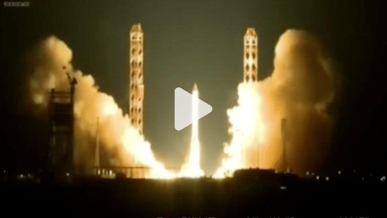 شاهد انفجار صاروخ فضاء روسي أثناء الاطلاق
