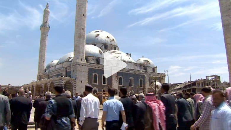 ثلاثة أصوات في حمص، الأذان ..المعارك .. والمعارضة