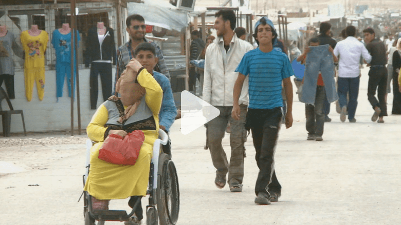 لاجئ بالزعتري ينتخب بشار بشرط أن يعيد إحياء القتلى!