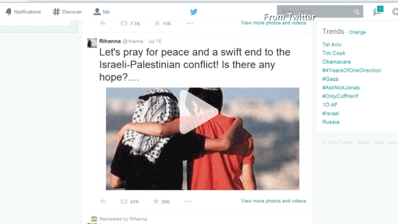 دور مواقع التواصل الاجتماعي في المعارك بين غزة وإسرائيل
