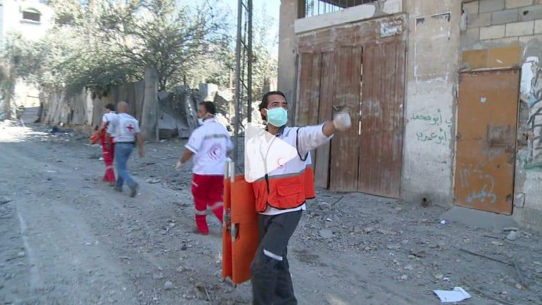 عمّال الإنقاذ ينسحبون من غزة لتعاظم المخاطر
