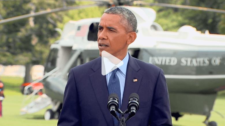 أوباما يعلن عقوبات جديدة على روسيا بسبب الأزمة الأوكرانية