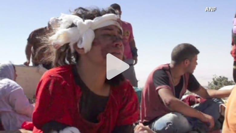 """الأيزيديون في العراق هربوا من """"داعش"""" فماتوا عطشاً في الجبال"""