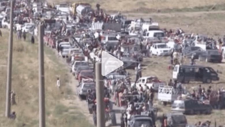أحلاهما مر.. مئات الأيزيديين العراقيين يفرون إلى سوريا