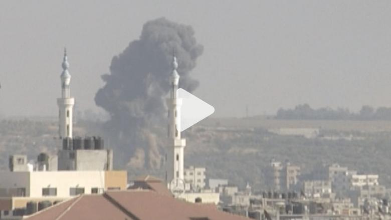 """بالفيديو.. إسرائيل تستأنف """"الجرف الصامد"""" على غزة.. وحماس تحمَّلها مسؤولية """"إجهاض"""" مفاوضات القاهرة"""