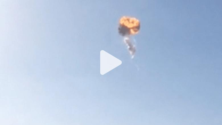 شاهد انفجار صاروخ فوق تكساس أثناء اختبار إطلاق