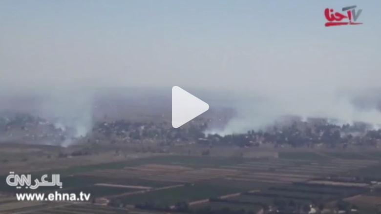 """بالفيديو.. إسرائيل تطلق النار على موقع للجيش السوري بالقنيطرة.. وأنباء عن سيطرة """"النصرة"""" على المعبر"""