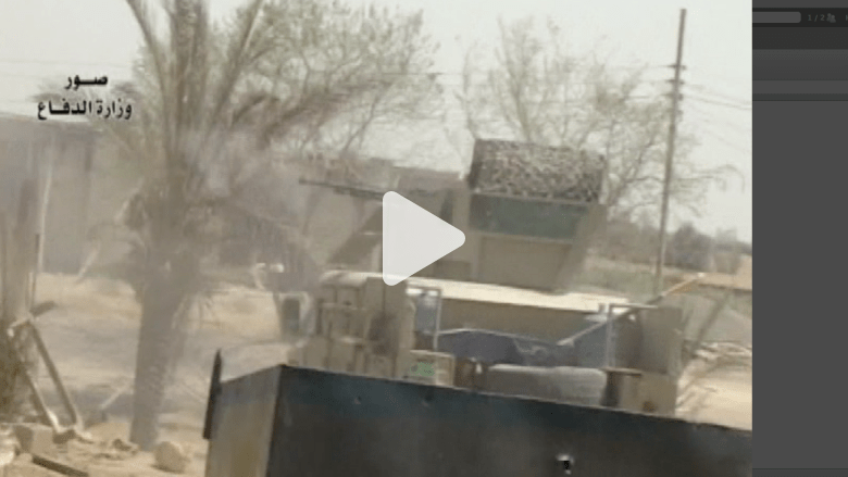 """الجيش العراقي ينشر فيديو لمعاركه مع """"داعش"""" ويكبده 46 قتيلاً"""