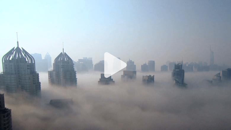 مشاهد مذهلة لمدينة دبي بتقنية الفاصل الزمني