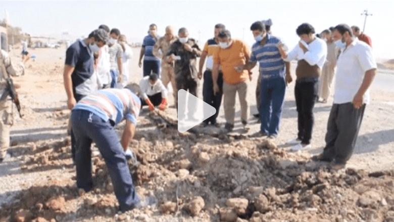 العثور على قبر جماعي لـ 15 شيعيا قتلوا على أيدي مسلحي داعش