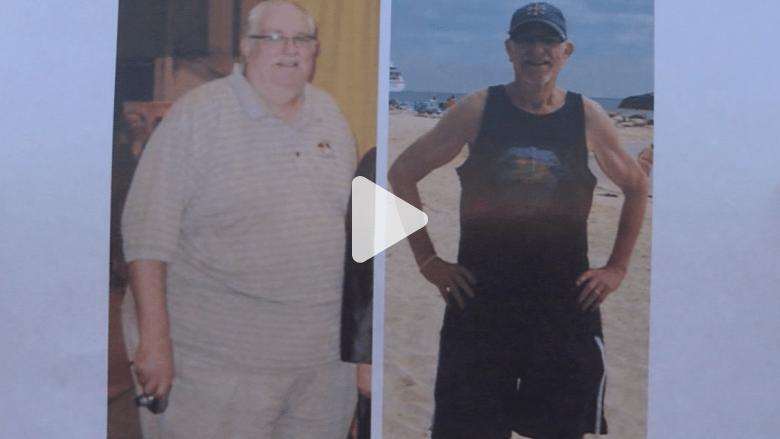 مدرس يحكي قصته بعد خسارة أكثر من 120 كيلوغراما من وزنه