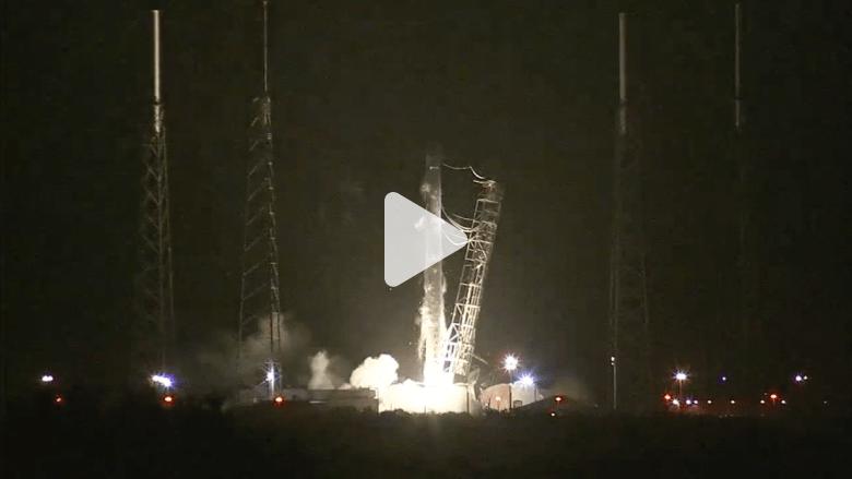 ناسا تطلق صاروخ دراغون لشحن طابعة ثلاثية الأبعاد إلى الفضاء