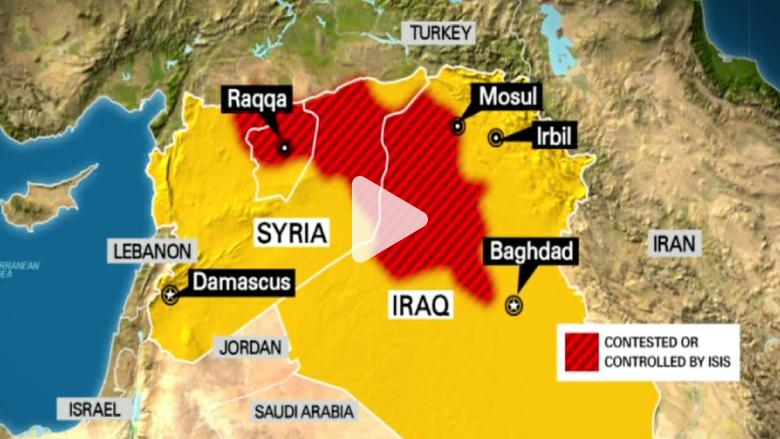 واشنطن بمساعدة 5 دول عربية تقصف داعش في الرقة وجماعة خراسان غرب حلب