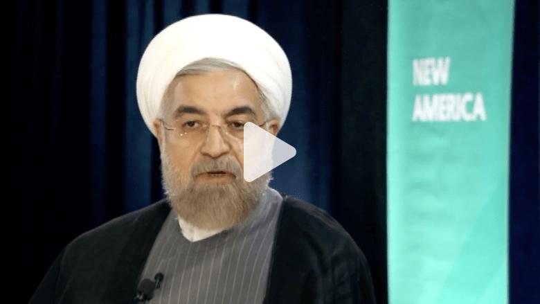 """الرئيس الإيراني لـ CNN : لا أعرف تفاصيل قضية أغنية """"هابي"""" ولم أشاهد الفيديو"""